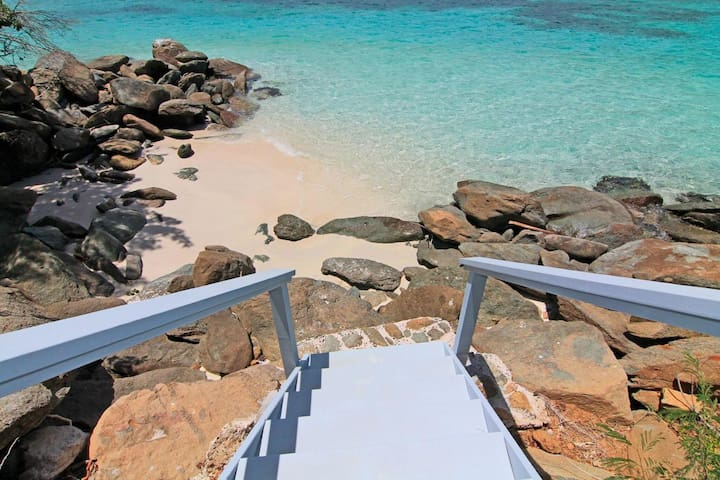Eau Claire- Magens Bay Affordable Beachfront Villa