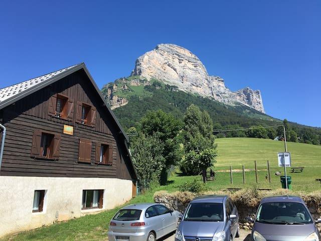 Studio à la montagne - Saint-Nazaire-les-Eymes - Apartament