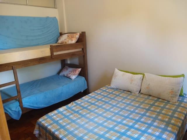 Apartamento 1 quarto aréa central de Serra Negra