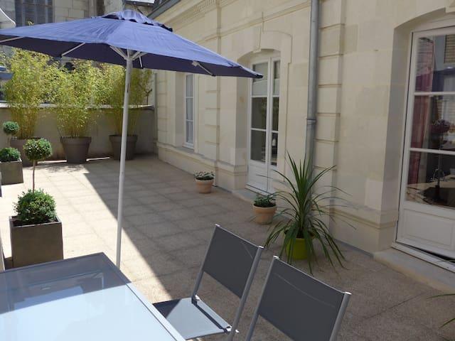 Gîte meublé 4**** ,  au cœur de Saumur - Saumur - Appartement