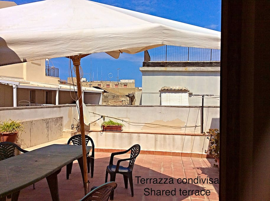 Terrazza condiviso Shared terrace