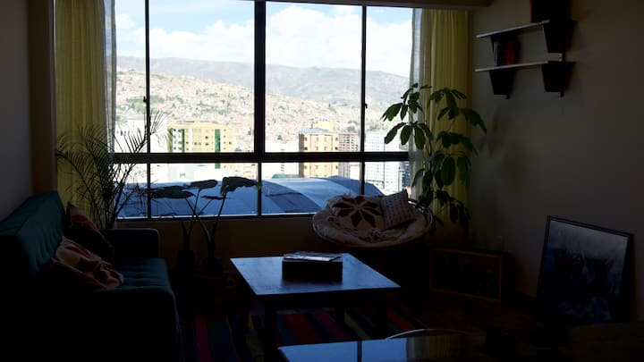 One-bedroom flat with stunning views of La Paz