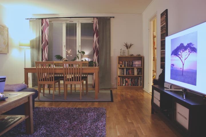 Fresh, Modern, Cosy Room 45min away from Downtown! - Västerhaninge - Wohnung