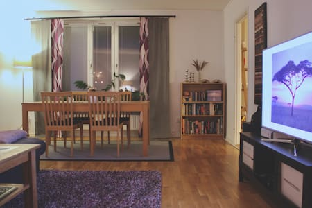 Fresh, Modern, Cosy Room 30min away from Downtown! - Västerhaninge - Wohnung