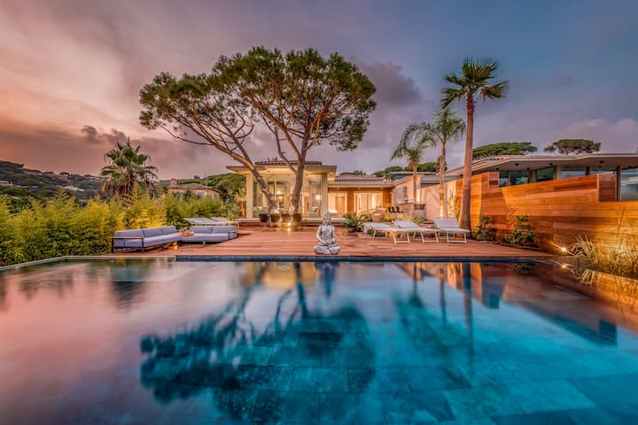 Villa Designer, Domaine Privé, Vue Mer Unique