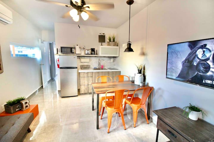 Modern Farmhouse Apt for 3 in Urban Mayaguez