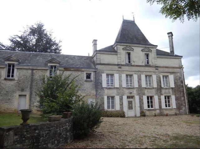 Château de Saugé  1607  - The Woodland Suite