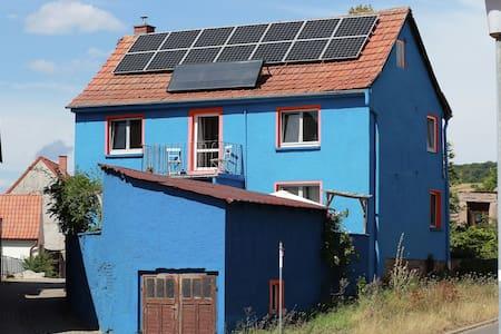 Mediterranean house in Kyffhäuserland with terrace and herb garden