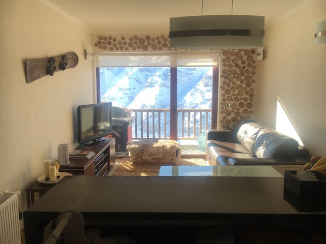 Departamento para 6, Valle Nevado Ski resort,