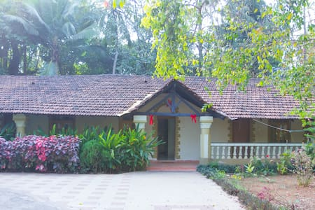 cottage green, Arossim Goa - Arossim - Huis