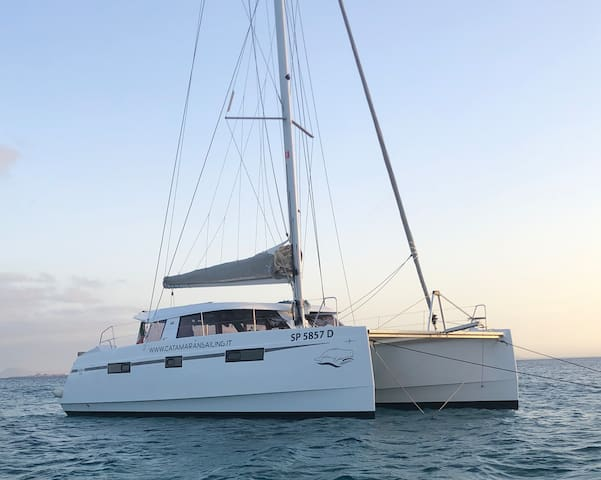 Catamarano a vela Luxury