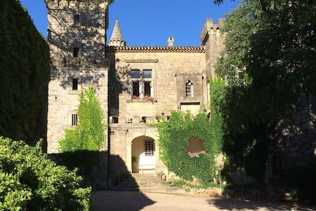 Chambre dans un château familial du XIème siècle - Montarnaud - Kastil
