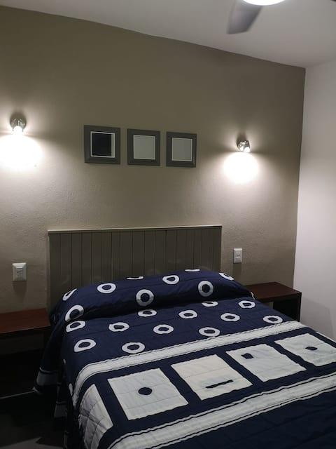 Hotel Axtla Habitación #7 para 2 personas