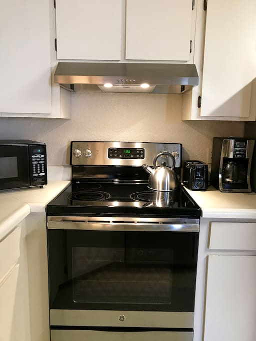 New stainless steel stove (May 2017)