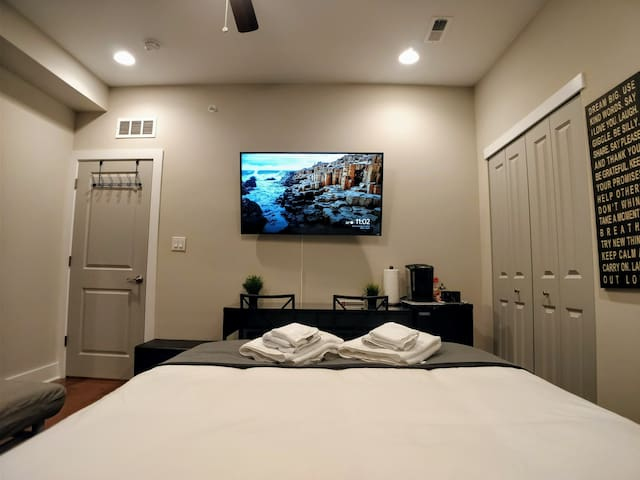 Great view for watching Netflix