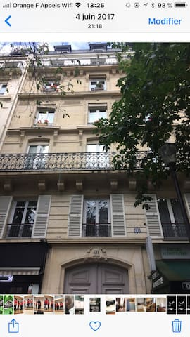 Chambre PARIS  5 eme  Claire calme ascenseur