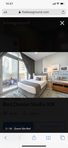 All included new studio in the heart of Dubai DIFC