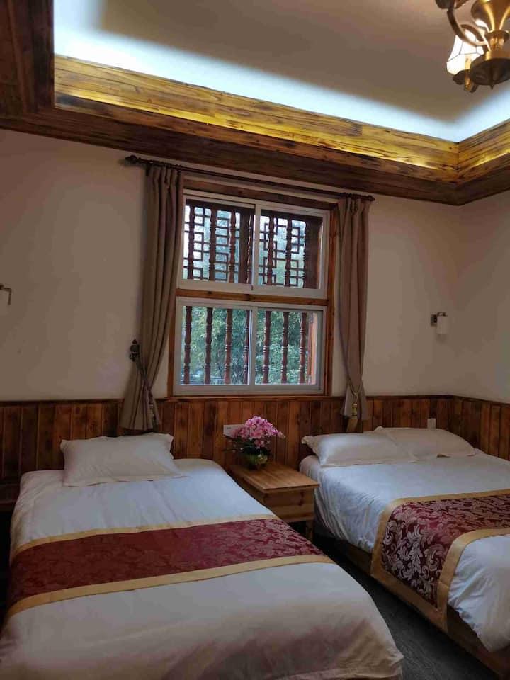 宝珠山庄标准双床房