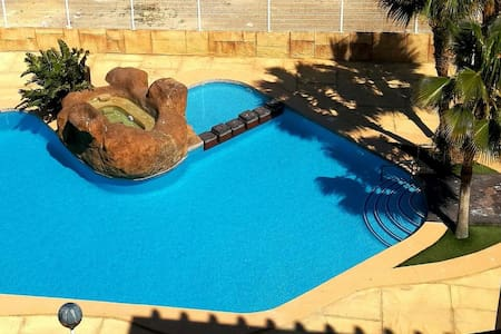 Centric two bedrooms apartment close to the beach