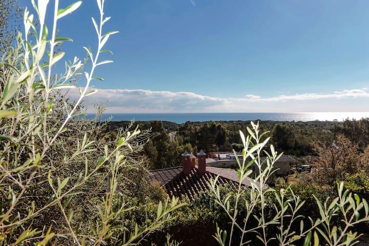 Villa Panoramica - โอโรเซอี - วิลล่า