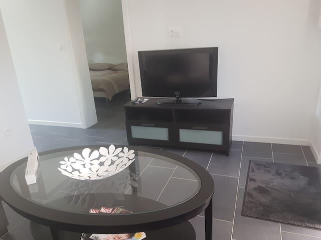 Séjour avec télévision