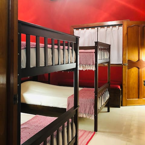 Room 4. Two Bunk beds