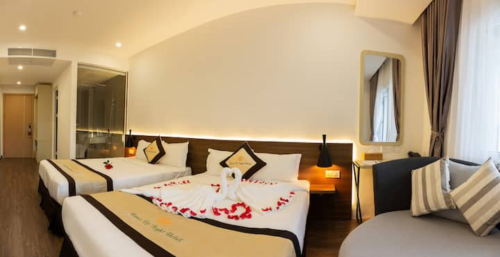 4★ HNBN Boutique Hotel Deluxe Room Balcony w View