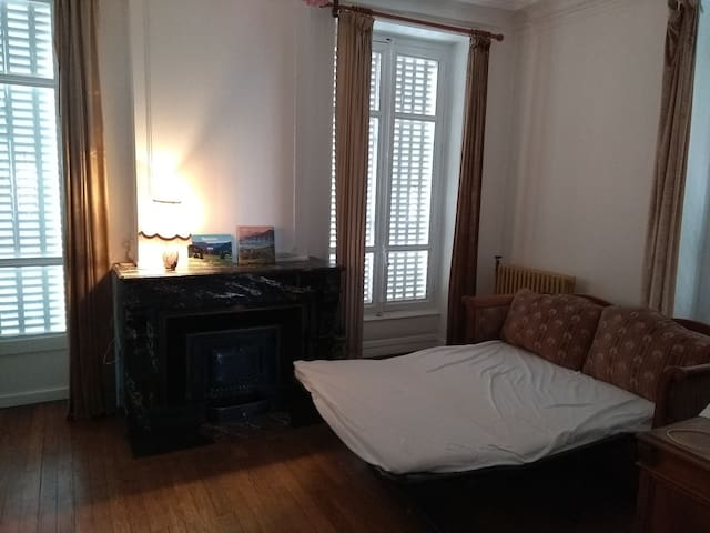 la chambre de maître, maison 1860