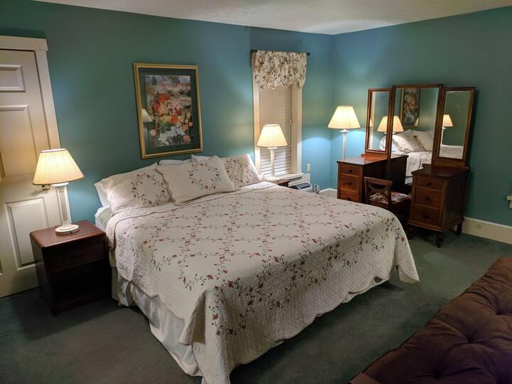 The Oak Room at the Honking Goose Inn