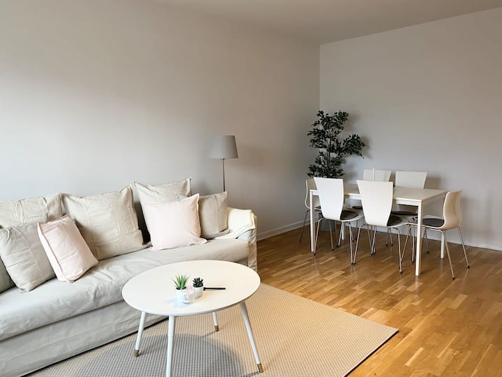 Stunning 2 bedroom apartment close to Globen