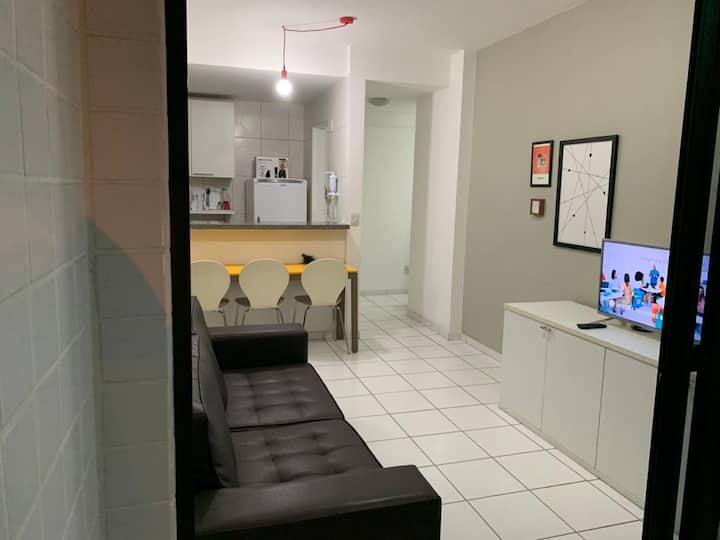 Apartamento aconchegante no coração da Ponta Verde