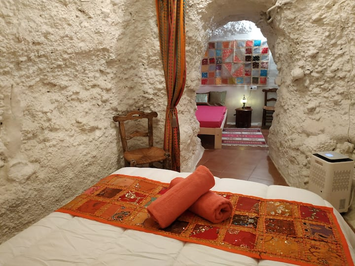 AlmaWasi: DARALMA casa cueva Albaizin & Wi-Fi Free