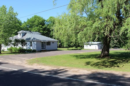 Ontonagon Home with EXTRA LARGE parking space!