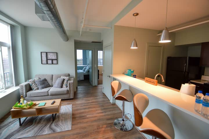Sanitized* Downtown CLE Loft near Playhouse Square