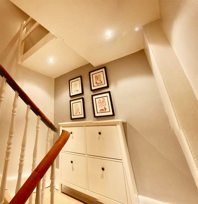 Private internal staircase provides additional quiet & privacy from rest of the building