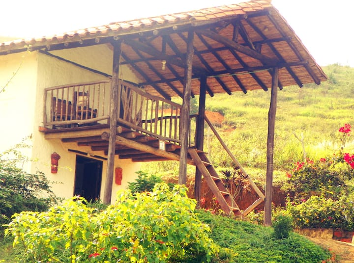 Posada el Alfarero, cabañas campestres, Barichara.