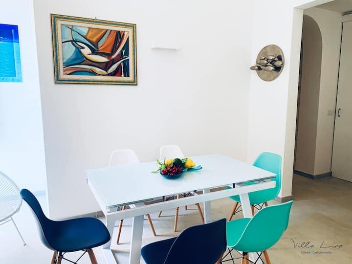 SeaFront Villa Lina | Caletta, Castiglioncello