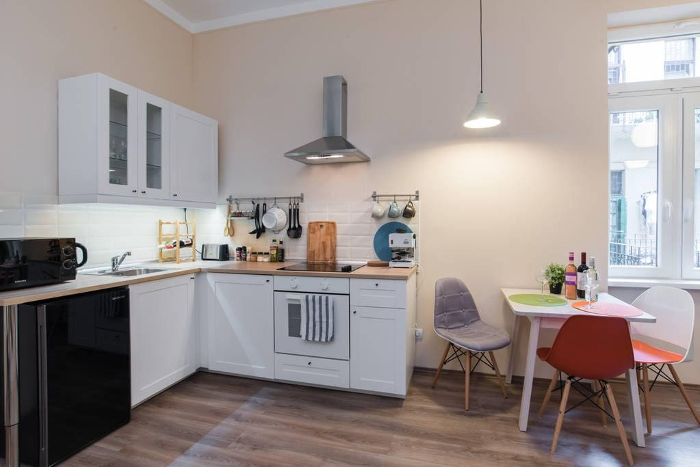 kitchen corner - fully equipped