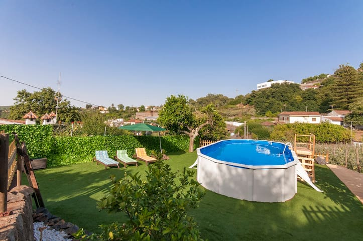 Holiday cottage, shared pool, Valleseco (GC0041) - Valleseco - Casa
