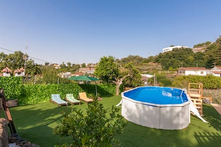 Holiday cottage, shared pool, Valleseco (GC0041) - Valleseco - 独立屋
