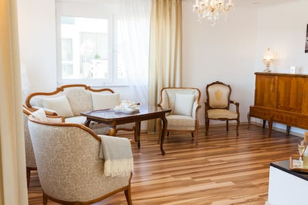 Deluxe Apartment, Ausblick auf Vogesen & Straßburg - Hohberg