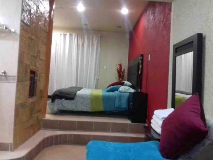 Hermosa y comoda Casa de 3 niveles Jacuzzi 4 camas