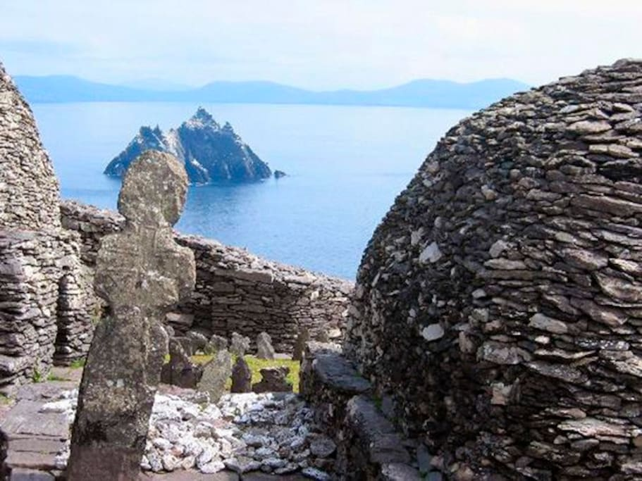Little Skellig viewed from Skellig Michael