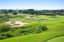 There are over 20 top quality golf courses  within 45 minutes drive