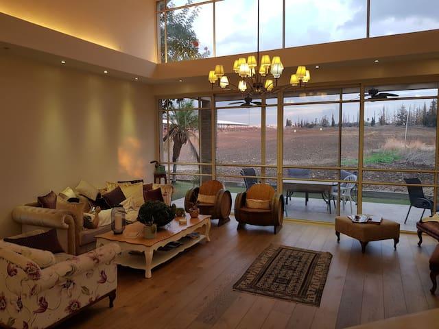 Big kosher villa in a village  near Tel avi