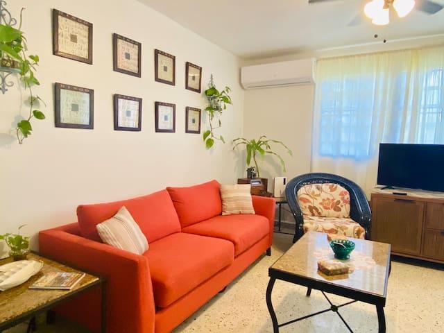 Living Room Sofá Sleeper - La Bohemia Apartment