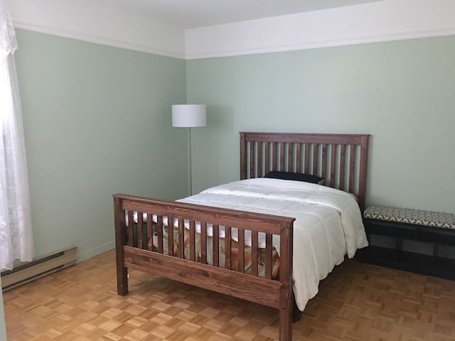 Main bedroom in Quebec City
