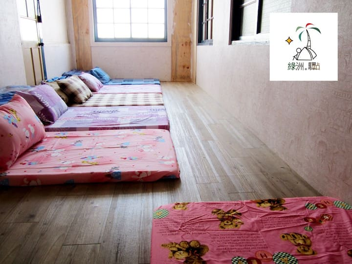 Oasis Tainan Backpacker 4beds/1200NT group special