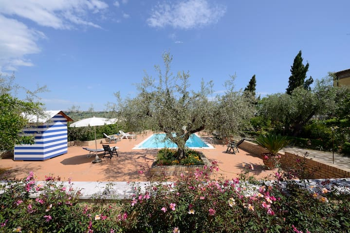 """Belvedere"" @ La Casa del Gallo - Atri - Apartemen"