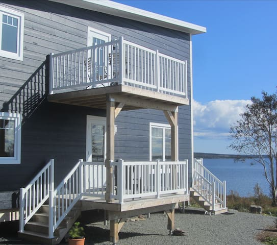 Cape Breton - Cozy Bras d'Or Waterfront Apartment
